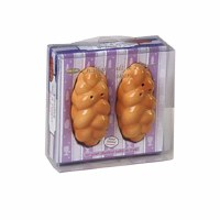 Challah Shaped Salt and Pepper Shakers