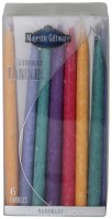 Chanukah Candles Multicolored Premium Collection 45 Count