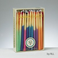 Chanukah Candles - Hand Dipped Beeswax