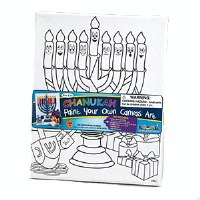 Chanukah Canvas Art Kit