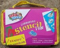Chanukah Stencil Fun Packet