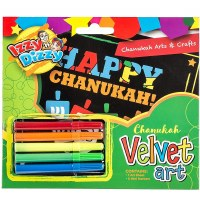 Chanukah Velvet Arts N Crafts Kit