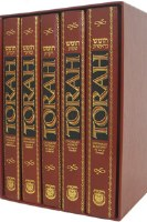 Torah Chumash 5 Volume Set with Commentary of the Lubavitcher Rebbe [Hardcover]