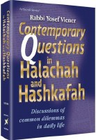 Contemporary Questions in Halachah and Hashkafah [Hardcover]