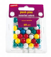 50 Pk Push Pins