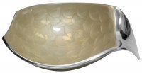 Decorative Dish Mother of Pearl With Pointed Stand