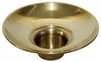 Brass Candle Holder no Design Large Count 12