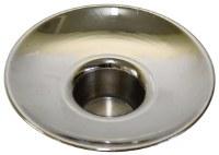 Nickel Candle Holder no Design Medium Count 12