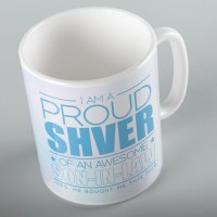 Jewish Phrase Mug I am a Proud Shver of an Awesome Son-in-Law 11oz
