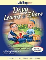 Dovy Learns to Share Book and Music CD [Hardcover]