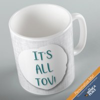 Jewish Phrase Mug It's All Tov! 11oz
