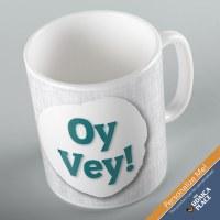 Jewish Phrase Mug Oy Vey! 11oz