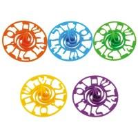 Dreidels Colorful Plastic 60 Pack