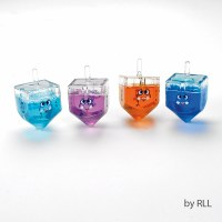 Dreidel Filled with Colored Gel Putty - Assorted Colors