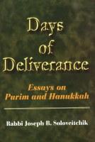 Days of Deliverance - Hardcover