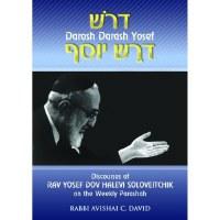 Dorosh Darash Yosef [Hardcover]