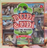 Dudi and Udi and the Mystery in the Monastery #5 [Hardcover]
