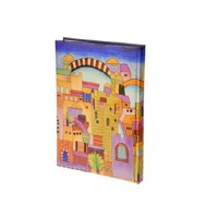 Yair Emanuel Medium Decorative Bound Notebook - Jerusalem