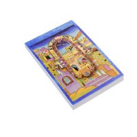 Yair Emanuel Decorative Notepad - Hamsa with View of Jerusalem