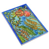 Notepad Pomegrante Design by Yair Emanuel Large