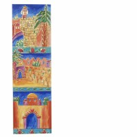 Yair Emanuel Cardboard Bookmark - Old City of Jerusalem