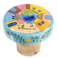 Yair Emanuel Bottle Cork - Round Jerusalem