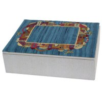 Yair Emanuel Embroidered Jewelry Box - Flowers