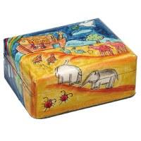 Yair Emanuel Small Wooden Jewelry Box - Noah's Ark