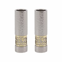 Candlesticks Silver Round Shaped Designed by Yair Emanuel