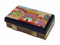 Yair Emanuel Matchbox Holder - Jerusalem in Color