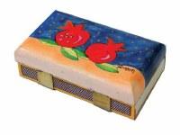 Yair Emanuel Matchbox Holder - Two Pomegranates