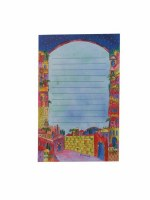 Yair Emanuel Small Magnetic Notepad - Jerusalem