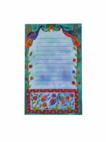 Yair Emanuel Small Magnetic Notepad - Flowers