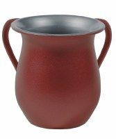 Yair Emanuel Washing Cup Textured Steel Red
