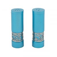 Salt and Pepper Shakers Turquoise Designed by Yair Emanuel