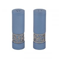 Salt and Pepper Shakers Blue Designed by Yair Emanuel