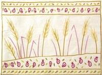 Yair Emanuel Embroidered Tallit Bag - Wheat