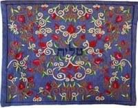 Yair Emanuel Embroidered Tallit Bag - Blue