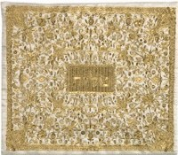 Yair Emanuel Full Embroidered Tallit Bag - Gold