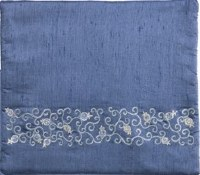 Yair Emanuel Blue Tallit Bag - Pomegranates