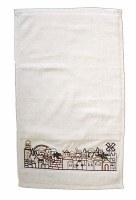 Yair Emanuel Embroidered Netilat Yadayim Towel - Jerusalem