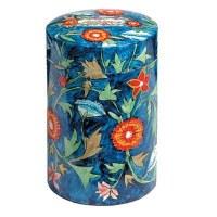 Yair Emanuel Round Tzedakah Box - Flowers