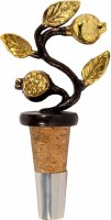 Yair Emanuel Bottle Cork with Copper Pomegranate Branch