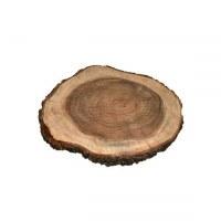 Yair Emanuel Challah Board Tree Trunk Shaped Mango Wood