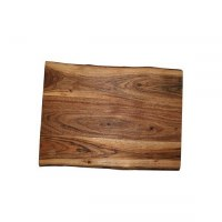 Yair Emanuel Challah Board Oblong Mango Wood with Feet