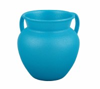 Washing Cup Jug Shape Turquoise Color Designed by Yair Emanuel