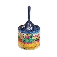 Yair Emanuel Painted Dreidel Box Jerusalem Design