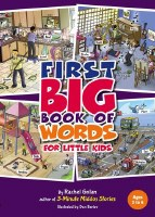 First BIG Book of Words [Hardcover]