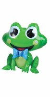 "Inflatable 24"" Plastic Frog Assorted Styles"