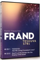 Teshuva 5781 2 Volume Set CD